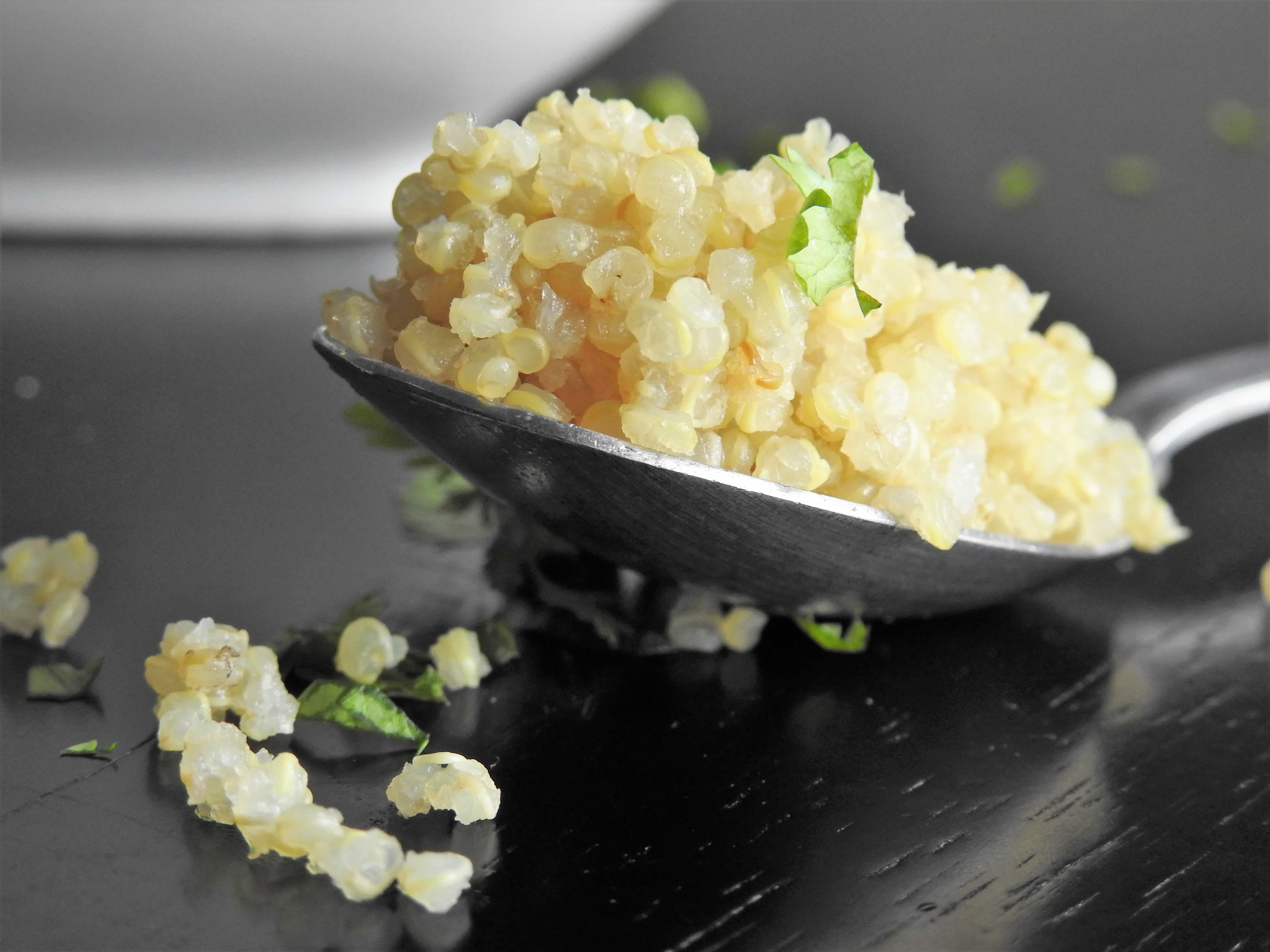 Close up of Quinoa